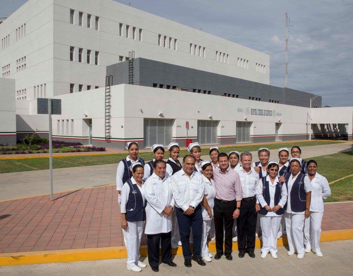 Inauguran Hospital General en Acapulco