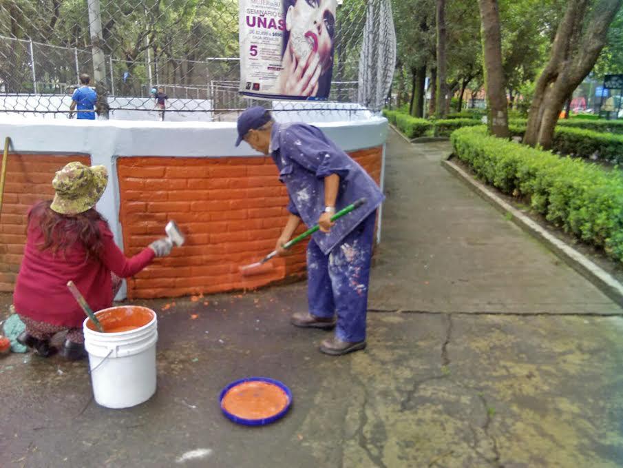 La CDMX rehabilita parque a través del programa Tu Ciudad te Re-Quiere