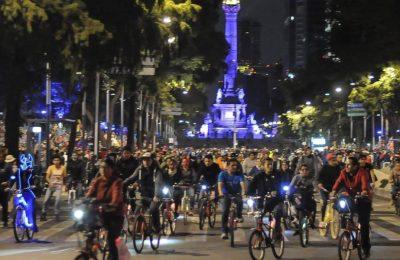 #YoTeCuido, la iniciativa que acompaña a chilangos en bici