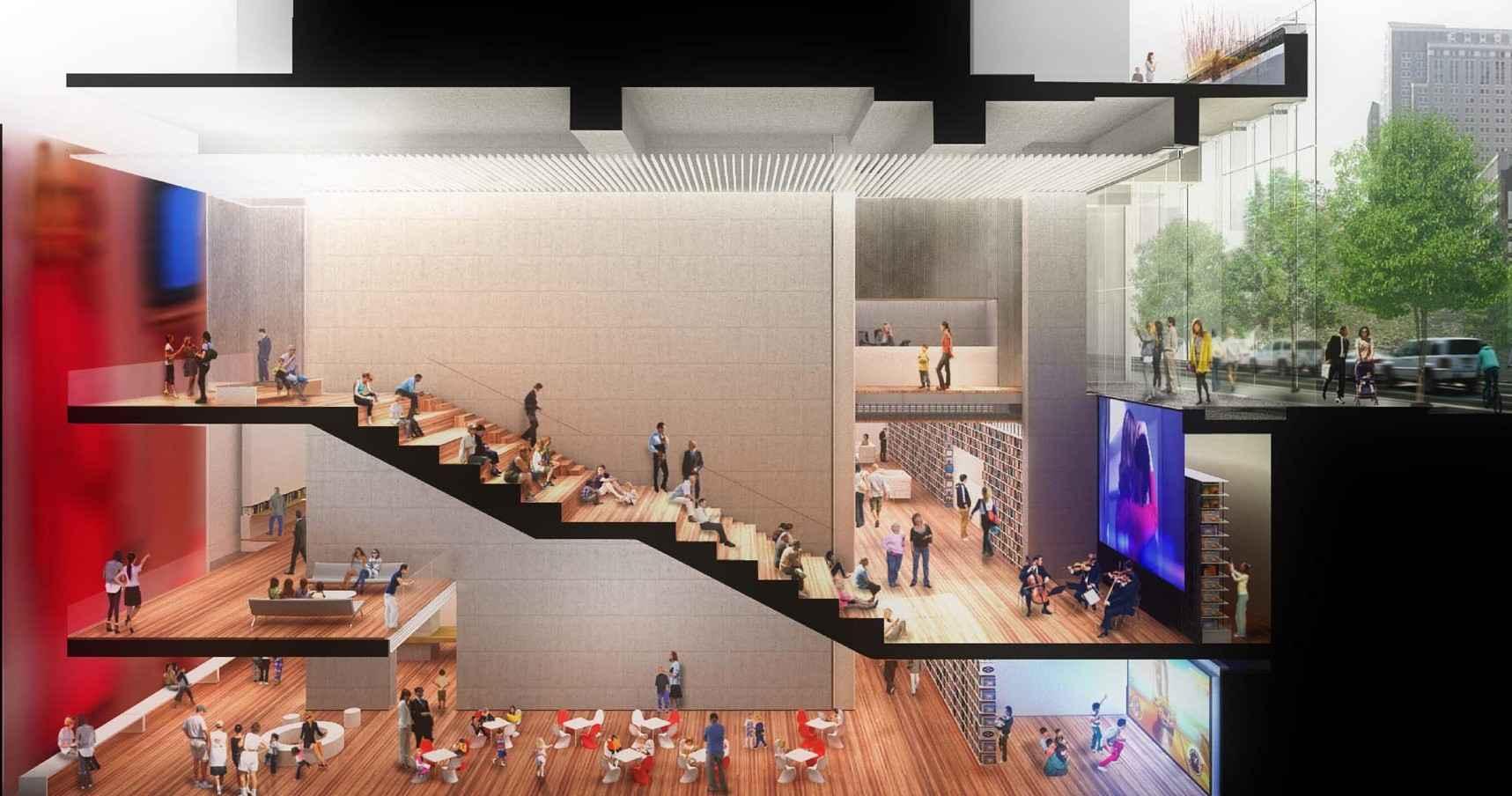 Enrique Norten diseña biblioteca única en su tipo en Nueva York