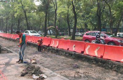 Construcción de Metrobús Reforma no afecta monumentos