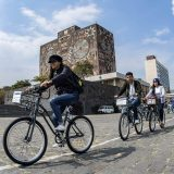 UNAM resalta los beneficios físicos y mentales de utilizar bicicleta