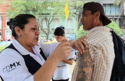Secretaría de Salud brinda atención médica en CDMX