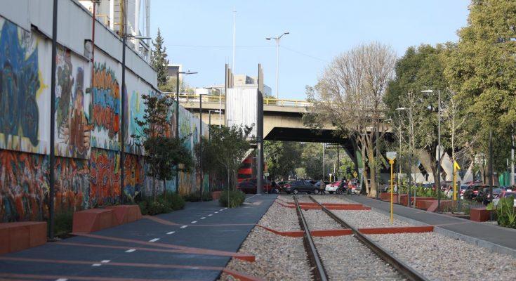 Inauguran Parque Lineal Ferrocarril de Cuernavaca en la CDMX