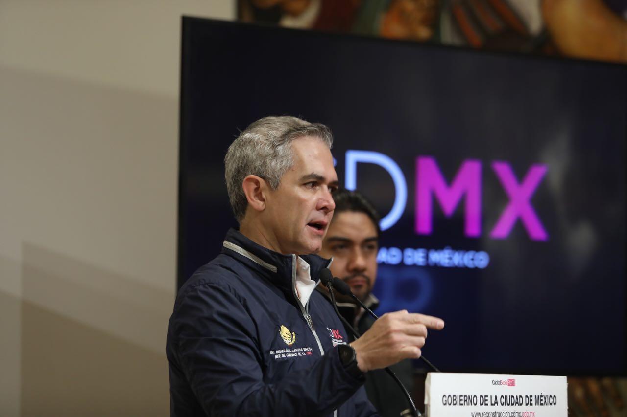 Reconstrucción de CDMX prioridad para 2018