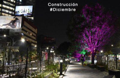 Construyen nuevo ecoducto en CDMX