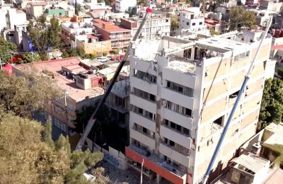 Concluyen demoliciones en CDMX