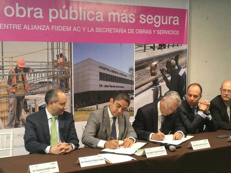 SOBSE se asocia con FIIDEM para crear laboratorio que ayude a mejorar obra pública