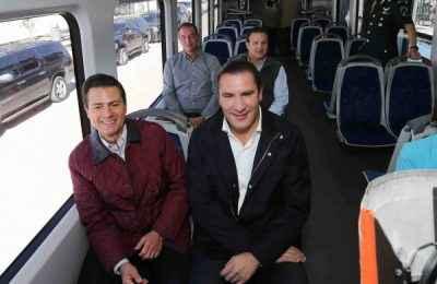 Entra en operaciones el Tren Turístico Cholula-Puebla