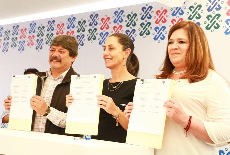 Tláhuac y Prosoc firman convenio de colaboración para mejorar U.H.