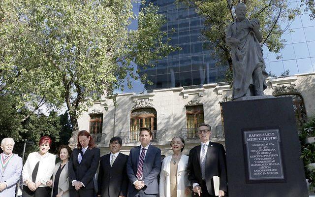 Escultura de Rafael Lucio Nájera regresará a Paseo de la Reforma
