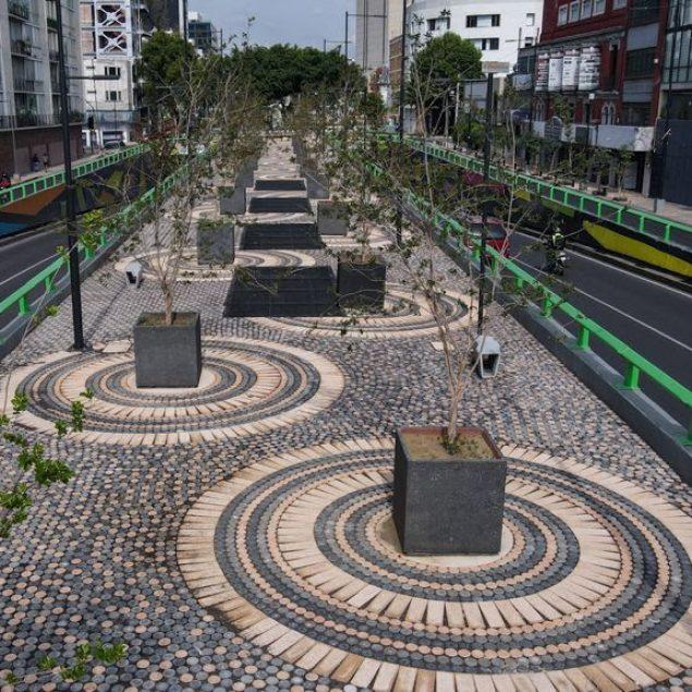 Inauguran proyecto de rehabilitación para Avenida Chapultepec