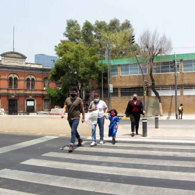 Disminuyen 15% decesos de peatones en Ciudad de México