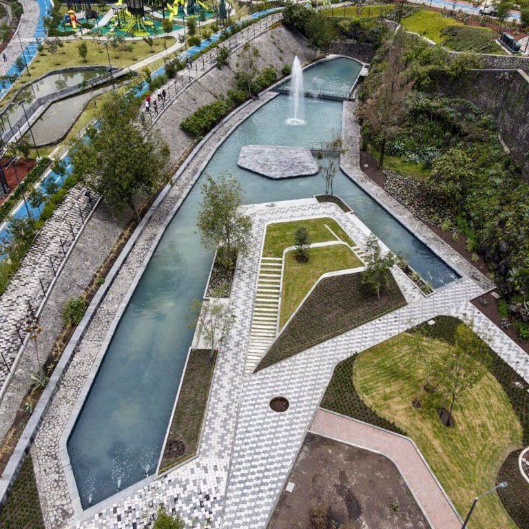Inauguran segunda etapa del Parque Cantera en Coyoacán