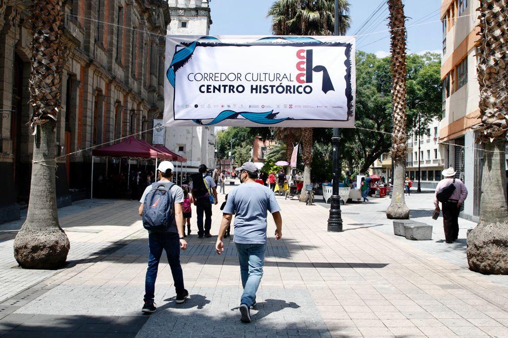 """Inauguran en CDMX nuevo """"Corredor Cultural Centro Histórico"""""""