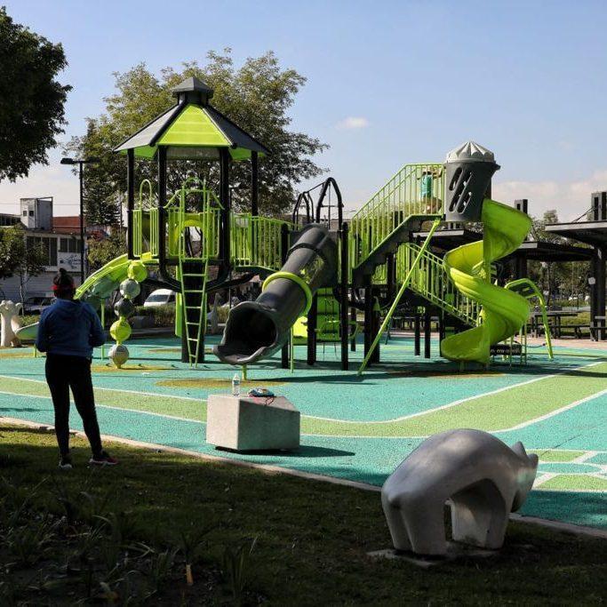 """Inauguran segunda etapa del Parque Lineal """"Vicente Guerrero"""""""