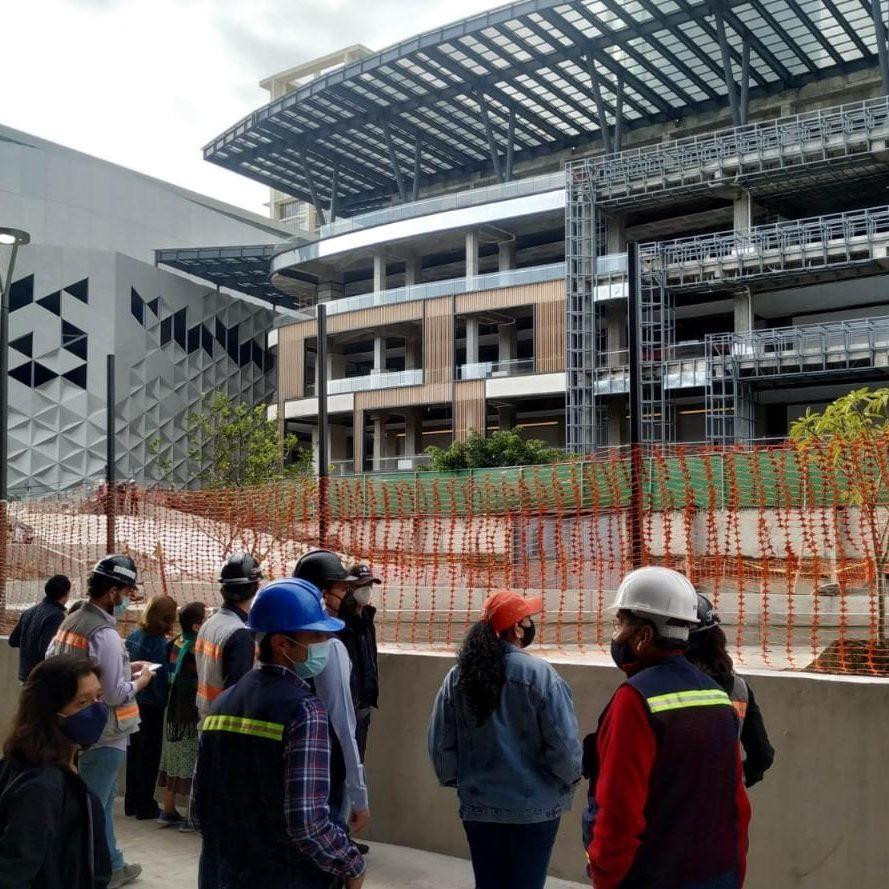 Supervisan autoridades capitalinas obras de mitigación en Xoco