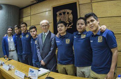 Estudiantes de la UNAM ganan concurso internacional de ingeniería petrolera