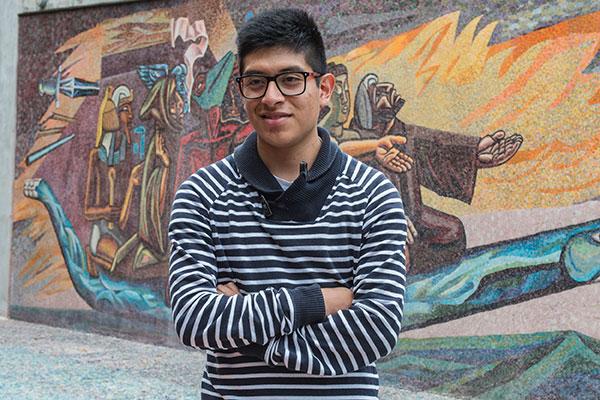 Alumno de la UNAM gana concurso internacional de paisajismo