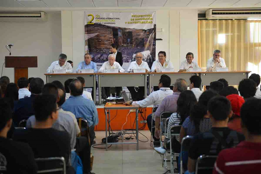 Facultad de Arquitectura de la UNACH organizó congreso sobre arquitectura social
