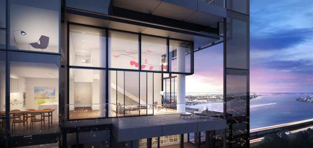 Nueva York presenta edificio residencial diseñado en cristal negro