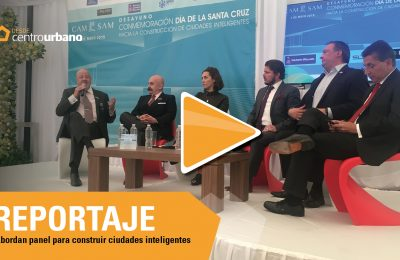 ▶️VIDEO | Abordan panel para construir ciudades inteligentes