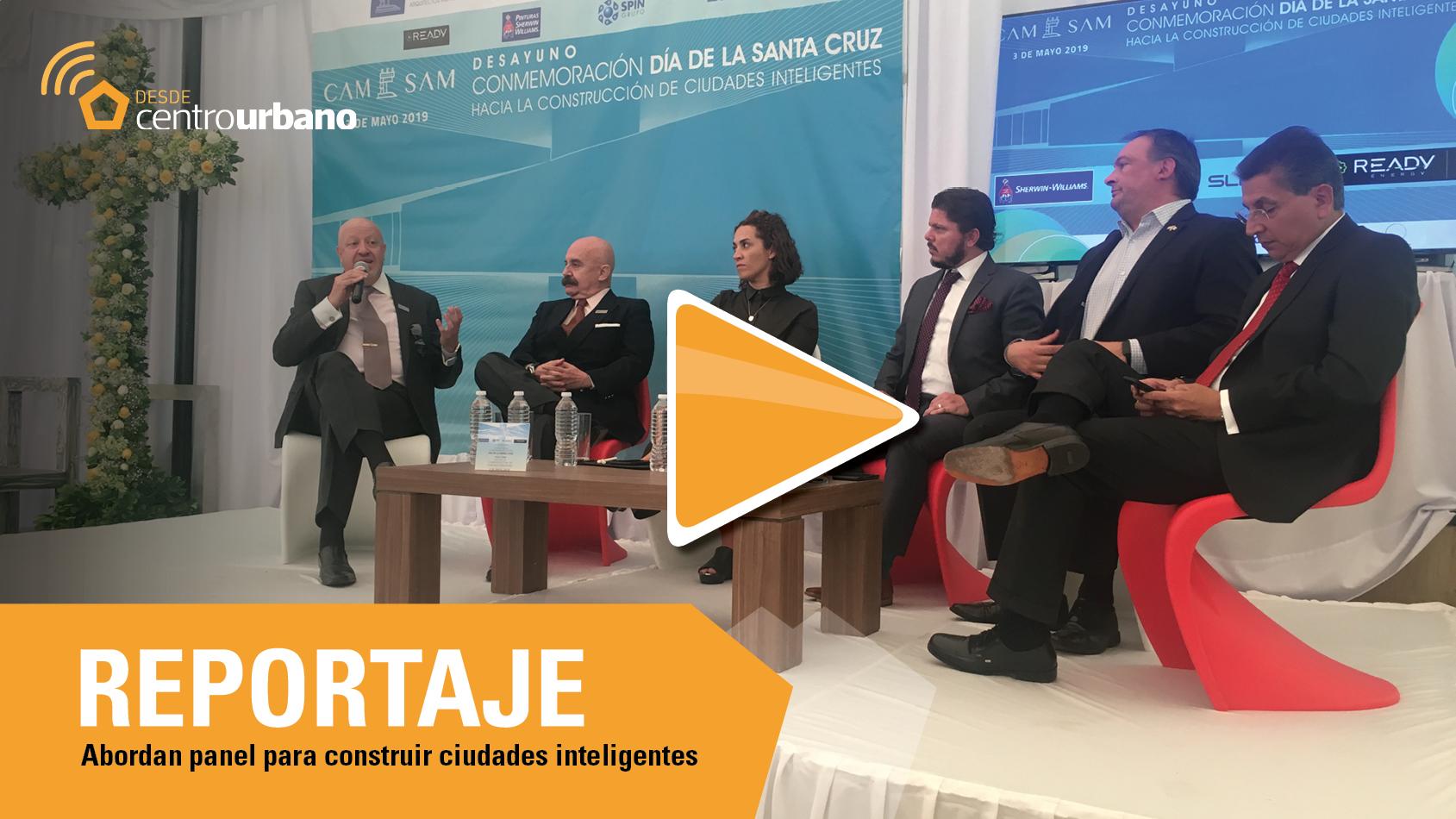 ▶️VIDEO | Abordan panel para construir ciudades inteligentes