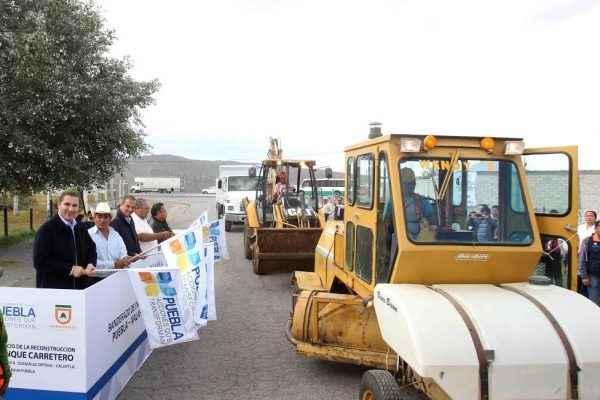 Inicia reconstrucción del tramo carretero Puebla-Xalapa Alchichica