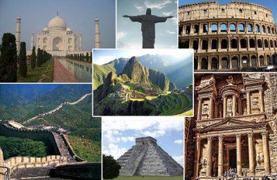 Arquitectura de las Siete Maravillas del Mundo Moderno