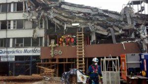 Finaliza demolición de edificio 284 en Álvaro Obregón por sismo en CDMX