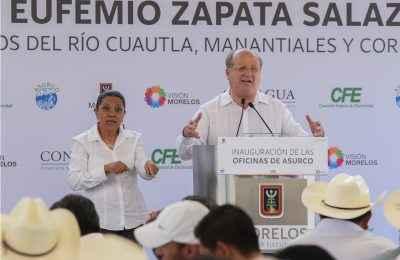 Fortalecen infraestructura hídrica en Morelos