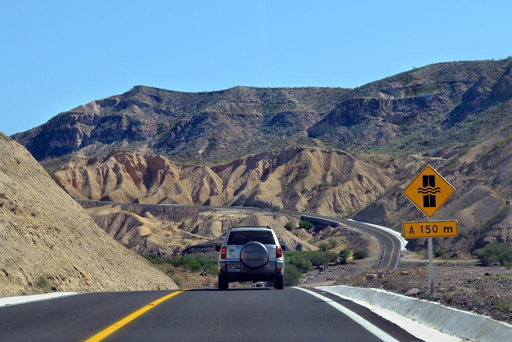 Modernizan carreteras Transpeninsular y La Paz-Pichilingue