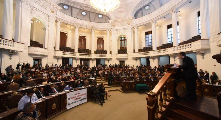 Proponen a ALDF ley para Reconstrucción y Transformación