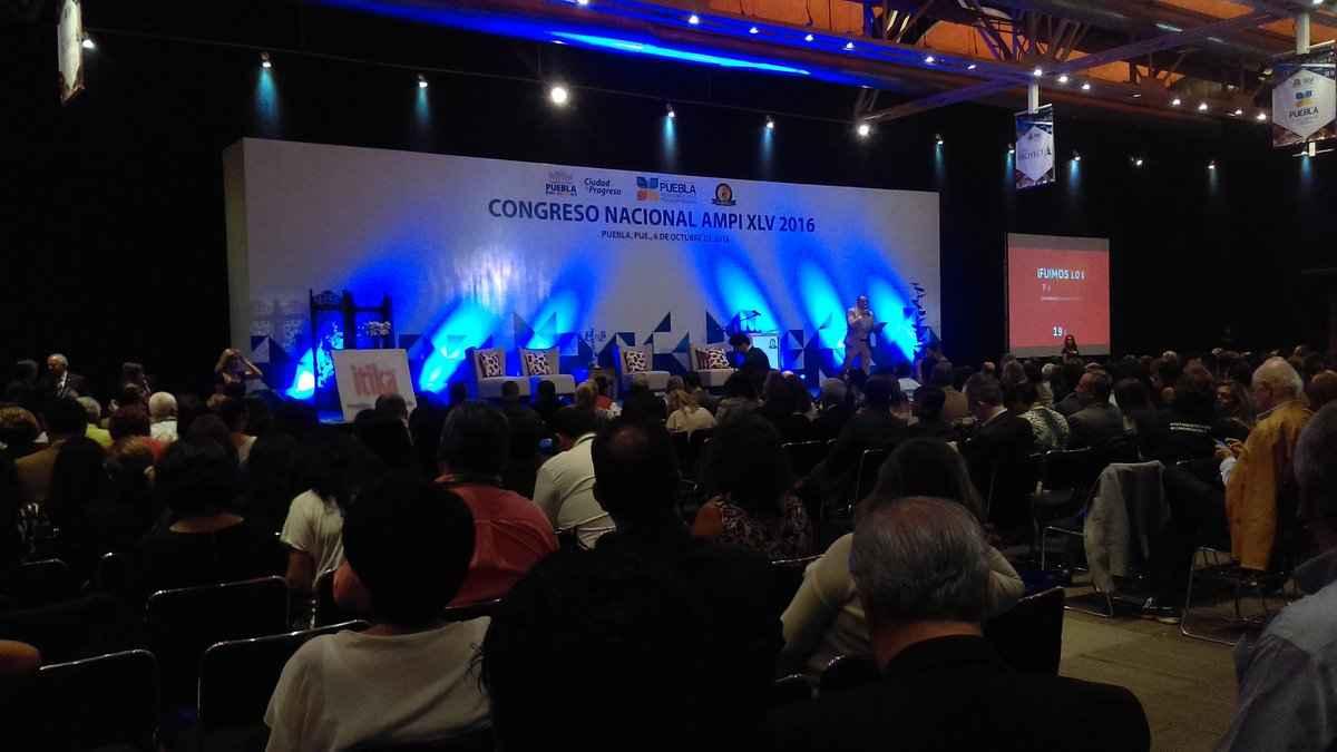 Celebra AMPI 45 Congreso Nacional en Puebla