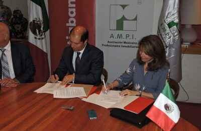 Firman AMPI y Scotiabank convenio de colaboración