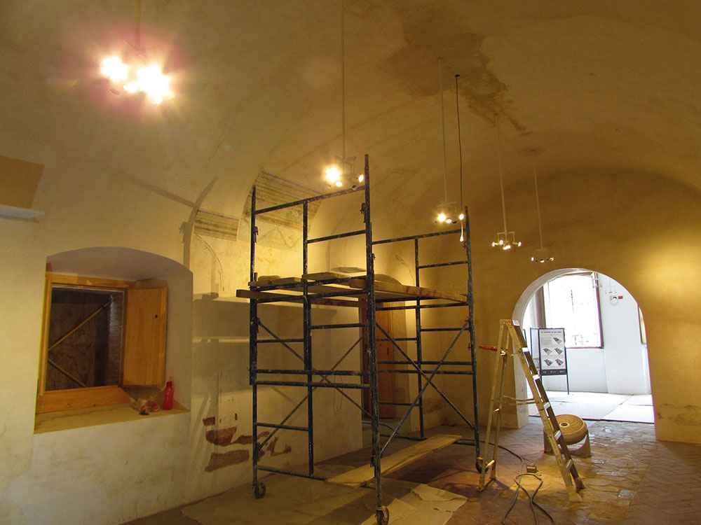 INAH restaura acabados arquitectónicos del Ex Convento de San Pablo