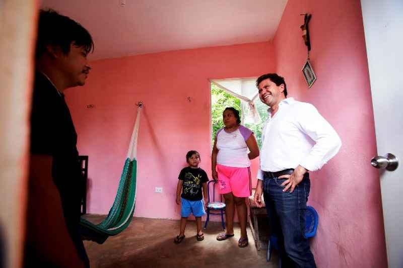 Realizan 408 acciones de vivienda en Yucatán