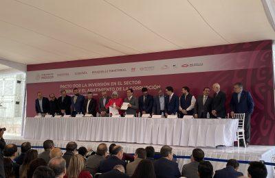 Acuerdan inversión conjunta por-Pacto Por La vivienda