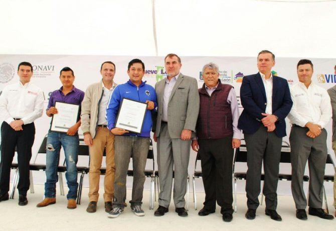 Entregó Conavi 3,800 subsidios en Nuevo León