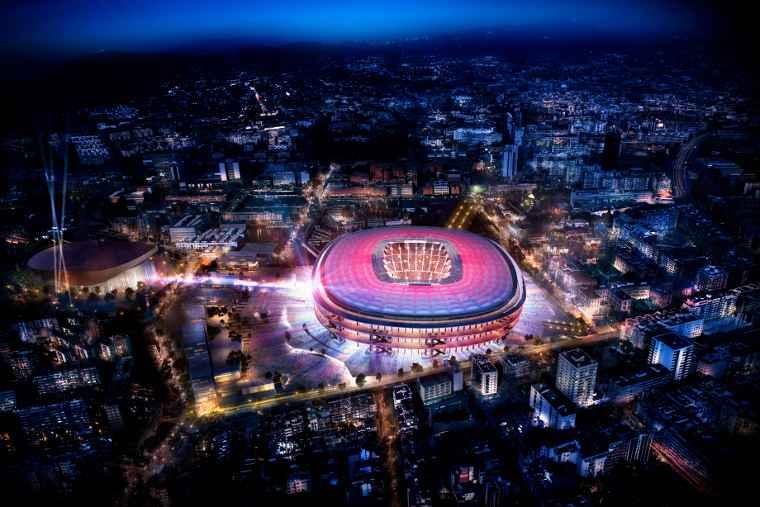 Nuevo Camp Nou del FC Barcelona estará listo en 2021