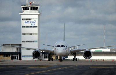 Mérida ampliará aeropuerto para aumentar turismo