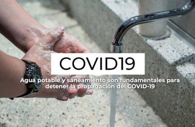 Agua y saneamiento, fundamentales contra Covid-19: ONU-Hábitat