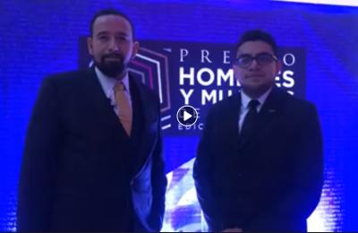 Agustín Rodríguez, ganador del Premio HyM 2019 categoría Sector Público