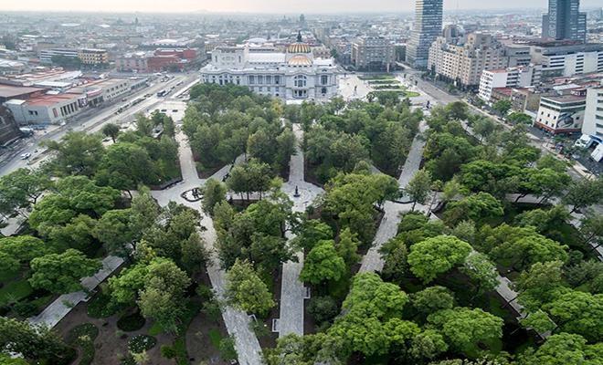 INBAL recorre la historia de la Alameda Central en la CDMX
