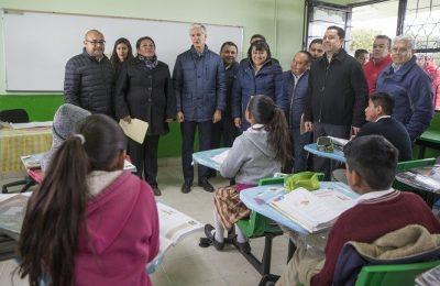 Rehabilitarán 820 escuelas en Estado de México
