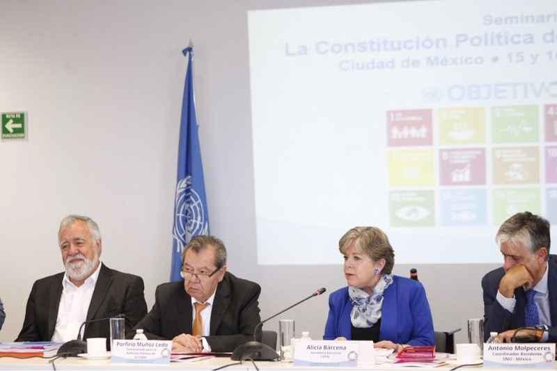 Constitución CDMX converge con agenda de Habitat III: Cepal