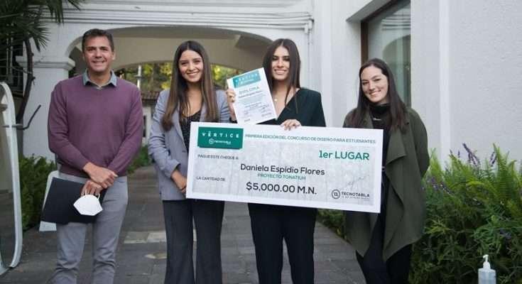 Alumna del ITESM gana concurso de diseño con Tonatiuh