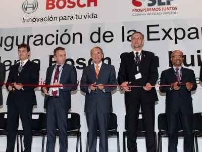 Amplía Bosch su planta en San Luis Potosí