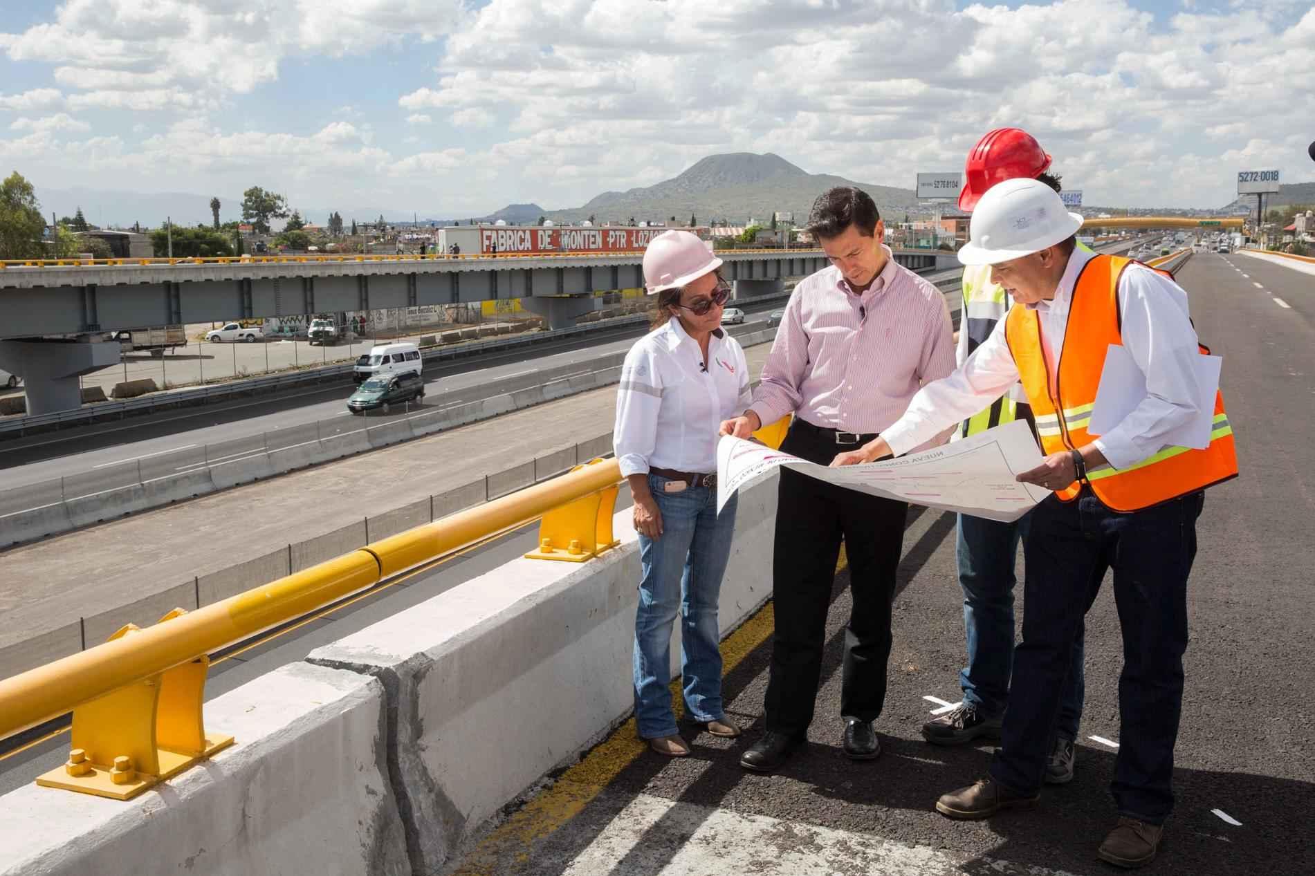 Inauguran ampliación de la autopista México-Puebla