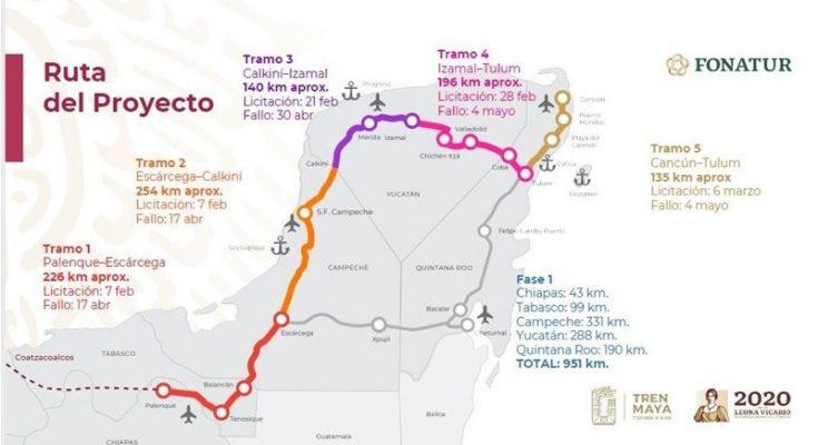 Analiza Fonatur propuestas para construcción de Tramo 1 del Tren Maya